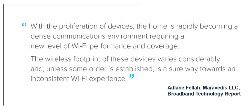 Whole home Wi-Fi opportunity from Broadband Tech report